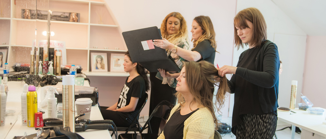Olivia Muldoon Hair and make up artist - Hair Academy Training